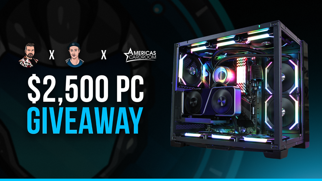 Image for $2,500 Gaming PC by Americas Cardroom, Gripsed and GGIO