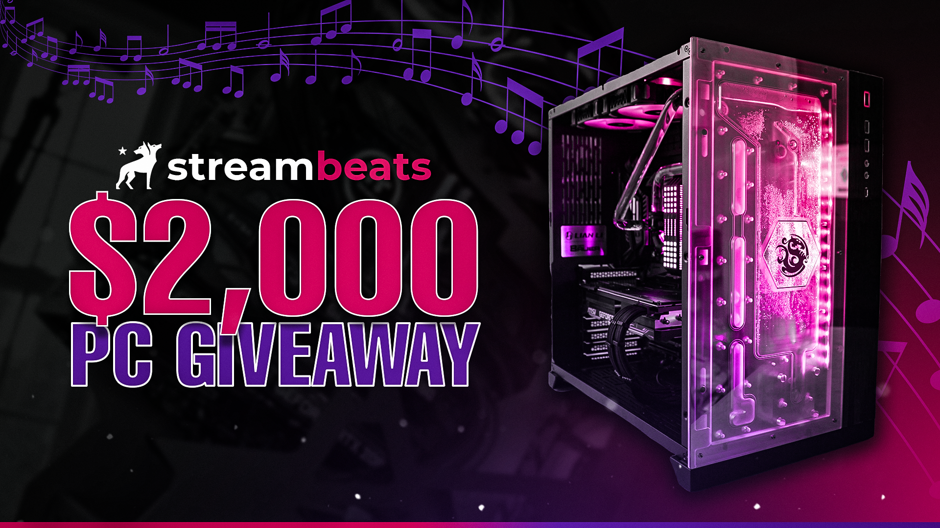 Image for StreamBeats Limited Edition EDM PC Giveaway