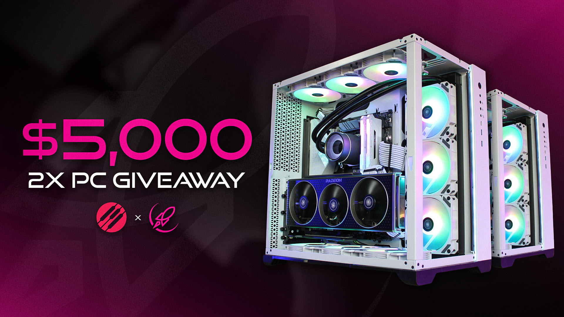 Image for $5,000 2x Gaming PC by CLUCoin