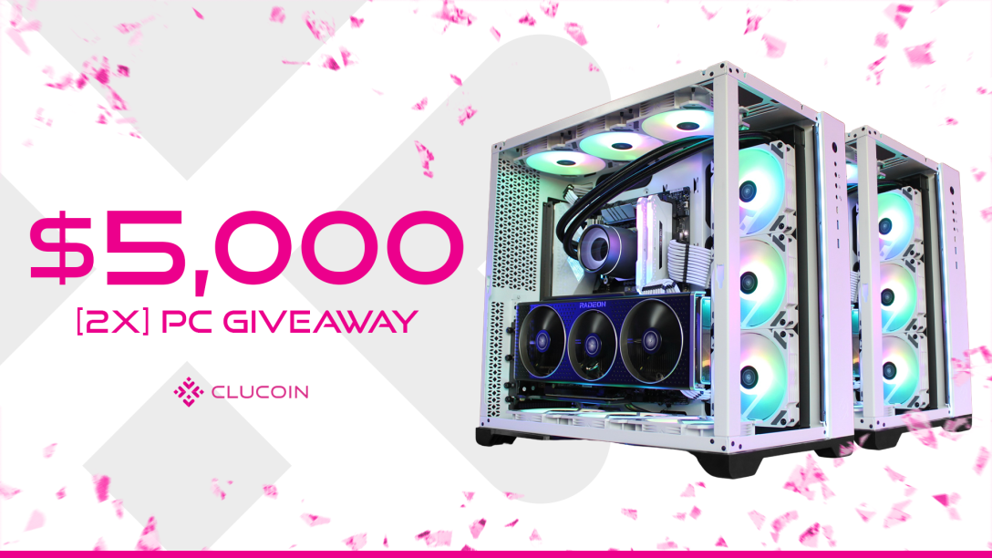 Image for $5,000 2x PC Giveaway by CluCoin