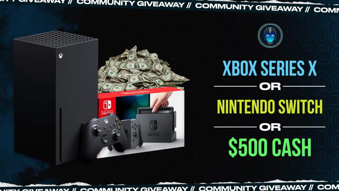 Image for Nintendo Switch, Xbox Series X, or $500 Community Giveaway - Wk 45